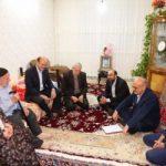 استاندار قزوین با ۲ خانواده شهید دیدار کرد